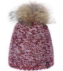 Zimná čiapka s prírodnou brmbolcom Kala Viking