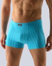 Pánske boxerky s kratšou nohavičkou 73065-DxAMxB GINA