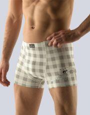 Pánske boxerky s kratšou nohavičkou 73070-LGB GINA