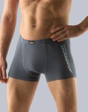 Pánské boxerky s kratší nohavičkou 73072-DxGMYM GINA
