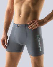 Pánske boxerky s dlhšou nohavičkou 74094-DxGMYM GINA