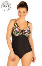 Jednodílné plavky s kosticemi 63346 LITEX