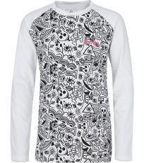 Dievčenské bavlnené tričko VANILA-JG KILPI