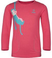 Dívčí bavlněné tričko SIMBA-JG KILPI