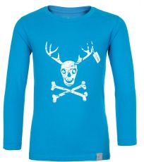 Chlapčenské bavlnené tričko HARDY-JB KILPI