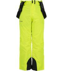 Chlapčenské lyžiarske nohavice METHONE-JB KILPI