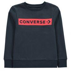 Dětská mikina Wordmark Sweatshirt Junior Boys Converse