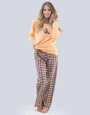 Dámské pyžamo dlouhé 19079-LEODCF GINA