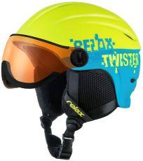 Lyžařská helma TWISTER VISOR RELAX