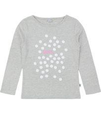 Dievčenské tričko dlhý rukáv 4F