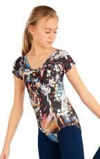 Gymnastická dres detský s kr. rukávy. 55439999 LITEX