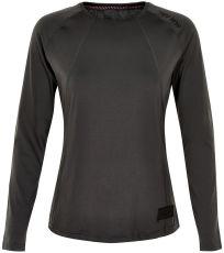 Dámské běžecké tričko s dlouhým rukávem BLACK Airflow Shirt NEWLINE