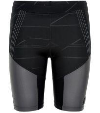 Dámske bežecké elastické šortky BLACK NEWLINE
