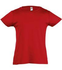 Dievčenské tričko s krátkym rukávom CHERRY SOĽS