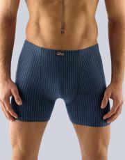 Pánské boxerky s delší nohavičkou 74092-DCMLZM GINA