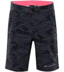 Dětské softshellové šortky TRENTO 2 ALPINE PRO
