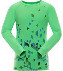 Dětské triko s dlouhým rukávem TEOFILO 5 ALPINE PRO