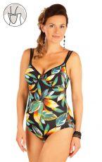 Jednodílné plavky s hlubokými košíčky. 57012 LITEX