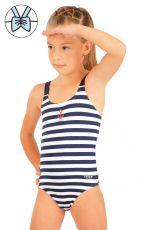 Jednodielne dievčenské plavky. 57537 LITEX