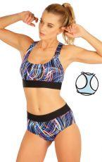 Plavky športový top bez výstuže 63518 LITEX