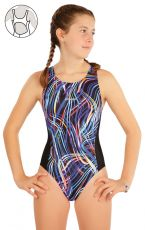 Dívčí jednodílné sportovní plavky 63632 LITEX