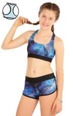 Dievčenské plavky športový top 63635 LITEX