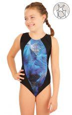 Dívčí jednodílné sportovní plavky 63637 LITEX