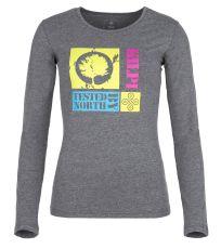 Dámske tričko s dlhým rukávom TREE-W KILPI