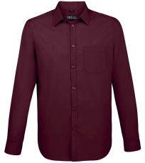 Pánska košeľa s dlhým rukávom BALTIMORE FIT SOĽS
