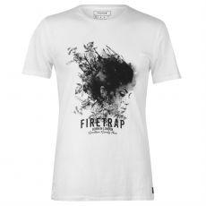 Pánské triko Graphic T Shirt Mens FIRETRAP