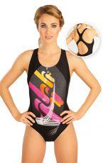 Jednodielne športové plavky. 52498 LITEX