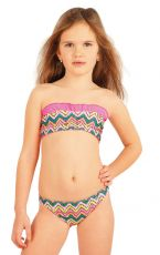 Dívčí plavky kalhotky bokové. 52573 LITEX