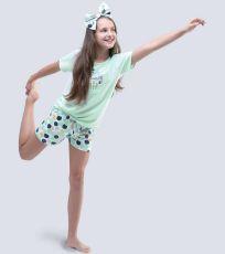 Dievčenské pyžamo krátke 19048-LYMMxB GINA