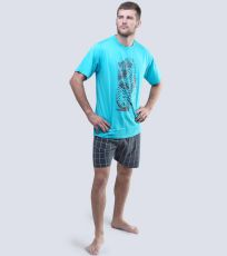 Pánske pyžamo krátke 79038-MYMDxG GINA