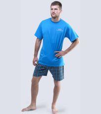 Pánské pyžamo krátké 79040-DxADxG GINA