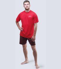 Pánské pyžamo krátké 79040-MxEMxC GINA