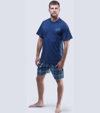 Pánské pyžamo krátké 79042-DCMDMZ GINA