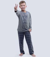 Chlapčenské pyžamo dlhé 79051-MxGDxG GINA
