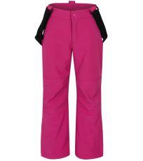 Dětské softshellové kalhoty CORKY LOAP