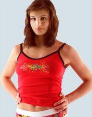 Košilka s úzkými ramínky 18032-DxE GINA