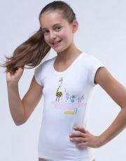 Dívčí triko 28003-MxB GINA