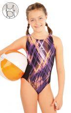 Dívčí jednodílné sportovní plavky 63649 LITEX