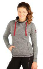 Mikina dámská s překříženým šálovým límc J1084110 LITEX