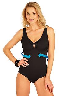 Sťahujúce jednodielne plavky s kosticami 50610 LITEX