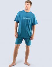 Pyžamo krátké pánské 79032-DZMMGA GINA