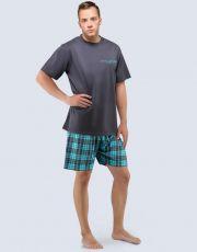 Pyžamo krátke pánske 79036-DxGMYM GINA