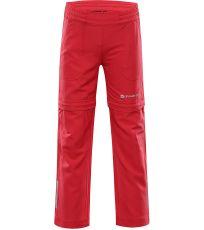 Detské softshellové nohavice PANTALEO 4 ALPINE PRO
