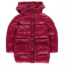 Dívčí bunda Long Bubble Jacket Infant Girls Everlast