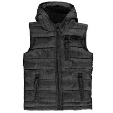 Chlapecká vesta Junior Boys All Over Checked Print Gilet Everlast