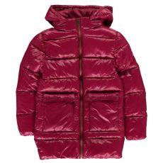 Dívčí bunda Long Bubble Jacket Junior Girls Everlast